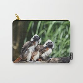 Cotton-top Tamarin Carry-All Pouch