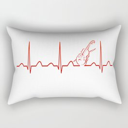 VIOLIN HEARTBEAT Rectangular Pillow