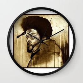 Soul Brother - Questlove Wall Clock