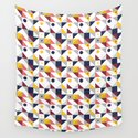 Geometric shapes retro pattern by pttrn