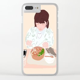 Japanese Food Clear iPhone Case
