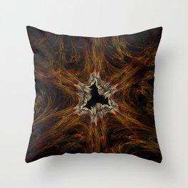 Unbridled Nature Throw Pillow