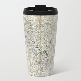 First Japanese Buddhist World Map showing Europe, America and Africa - print from 1710 Travel Mug