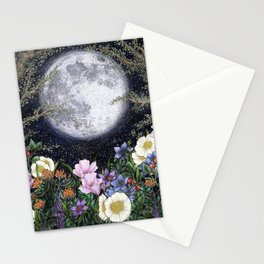 Midnight in the Garden II Stationery Cards