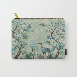 The Chinoiserie Panel Carry-All Pouch