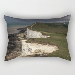 White cliffs of Beachy Head Rectangular Pillow