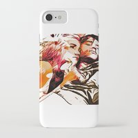 eternal sunshine of the spotless mind iPhone & iPod Cases featuring eternal sunshine of the spotless mind by Paola Rassu