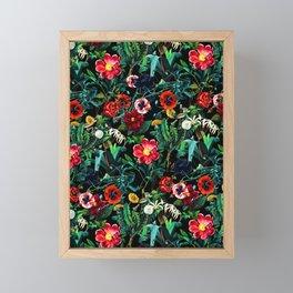 Night Forest VII Framed Mini Art Print