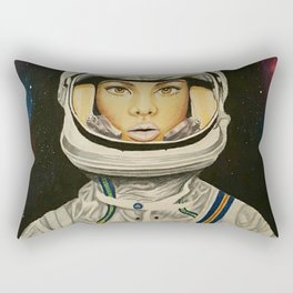 Floating in Space Rectangular Pillow
