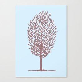 Tree One Canvas Print