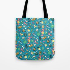 Dungeons & Patterns Tote Bag