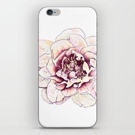 Peonies Flower Floral Wall Art Print iPhone Skin