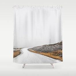 Roads Were Made For Journeys III Shower Curtain