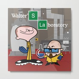 walter's lab ( tribute to breaking bad ) Metal Print