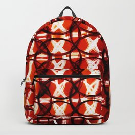 Burnt grunge abstract pattern Backpack