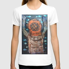 fathoms from the deep T-shirt