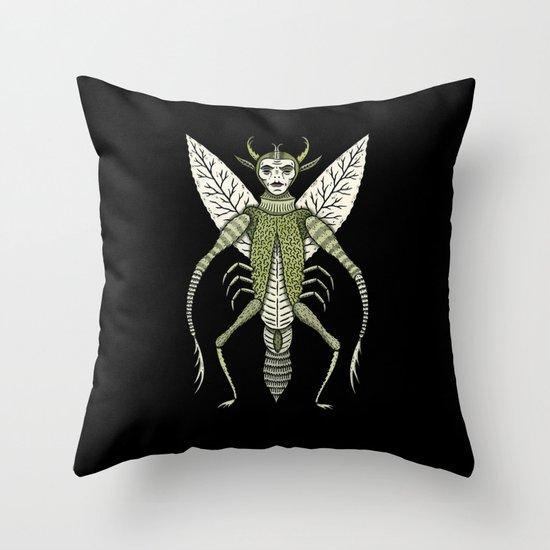Ten-Legged Creepy Crawly Throw Pillow