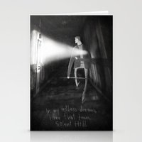 silent hill Stationery Cards featuring James Sunderland from Silent Hill 2 by Peerro