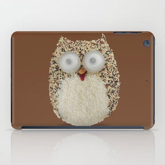 Specs, The Grainy Owl! iPad Case