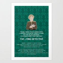 The Lying Detective - Mrs Hudson Art Print