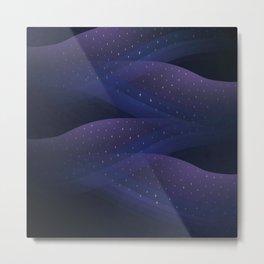 Ultraviolet Cosmos Metal Print