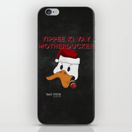 bad duck .. movie quote 3 iPhone Skin