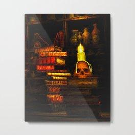 Books Of Magic Metal Print