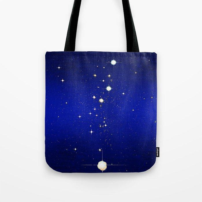 Catch a falling star Tote Bag