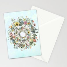 Circle of Life Blue Stationery Cards