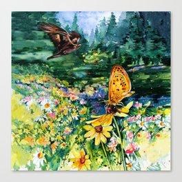 The Meadow by Kathy Morton Stanion Canvas Print
