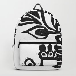 Folk Art Flower Backpack
