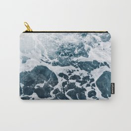 Marble ocean Carry-All Pouch