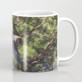 Heron Midflight Coffee Mug