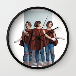 Orphic / The three Graces Wall Clock