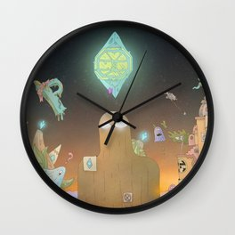The Cosmic Giant Wall Clock