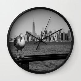 Birdhattan Wall Clock