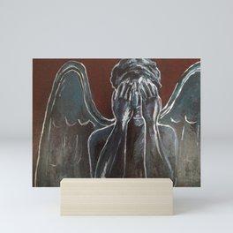 Weeping Angel Mini Art Print