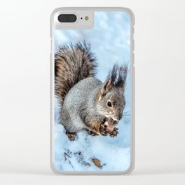 Ice age- the happy end Clear iPhone Case