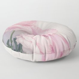 Pink Peonies Floor Pillow