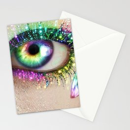 Rainbow Eye Stationery Cards