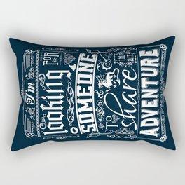 Help wanted Rectangular Pillow