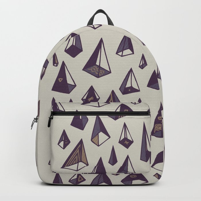 Triangles Are My Favorite Shape Backpack