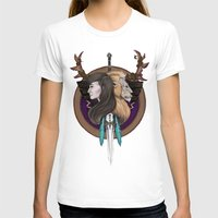 warcraft T-shirts featuring Lions! Make You Brave by Emily Anne Daugherty