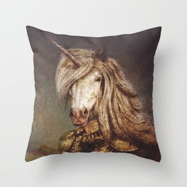 The Count of Wonderland Throw Pillow