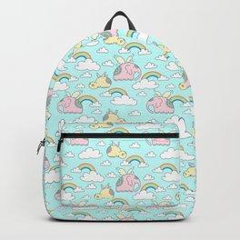 Elephants and hippos Backpack