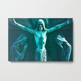 Jesus dans Mont-Royal Metal Print