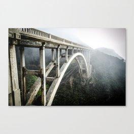 Bixby Canyon Bridge Canvas Print
