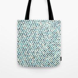 Natural Blue Pattern Tote Bag