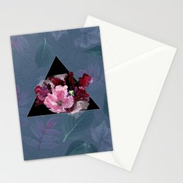 Oxblood Tulips Stationery Cards