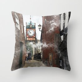 Chester England Throw Pillow